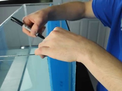 HOW TO:  Build a fully integrated aquarium filter - Internal sump