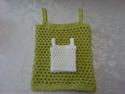 How to crochet my petite baby string vest tutorial part 1 easy magical pattern adults sizes included