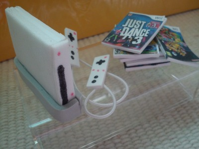 How To Make a Doll Wii Game System