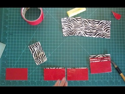 How to Make a Duct Tape Wallet Tutorial: Beginner (Easy)