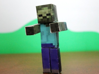 How to make a Minecraft Paper Zombie