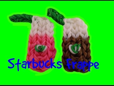 How to Make a Rainbow Loom Starbucks Frappe | LoomingandCrafts