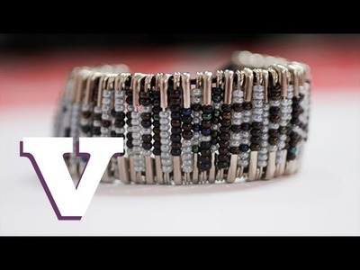 How To Make Your Own Beaded Safety Pin Bracelet: Fix Up Look Sharp - S01E5.8
