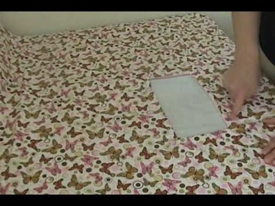How to Sew a Shopping Cart Seat Cover. .Part 1