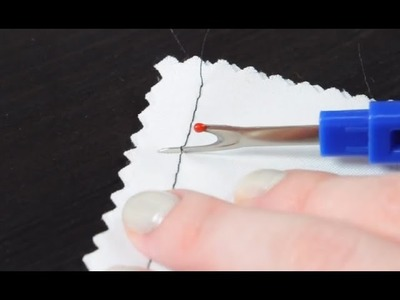 How to Use a Seam Ripper (Tutorial)