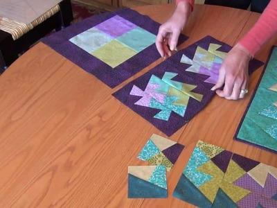 June Tailor Twist N Stitch Ruler Demonstration Video