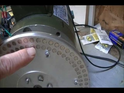 Lenz's effect heating with RV motor 001