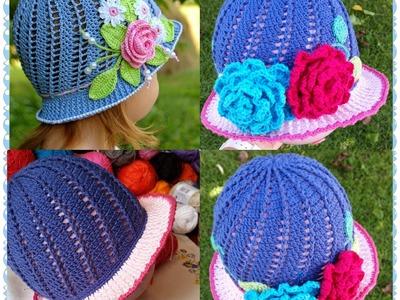 Little Girls Cloche Hat Part 2