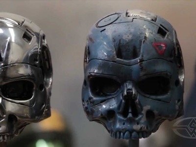 Metallic Paint - PREVIEW - Special Effects Character Creation Video Tutorial with Rob Ramsdell