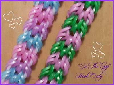 "New ""In The Loop"" Hook Only Bracelet.How To Tutorial"