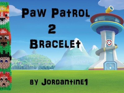 New Paw Patrol 2 Dog Bracelet Pattern - Alpha Loom. Rainbow Loom - Bulldog, Chocolate Lab