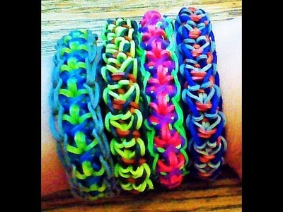 NEW Rainbow Loom Bolt Bracelet