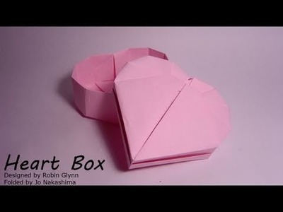 Origami Heart Box (Robin Glynn) - Part 2.2 (Lid)
