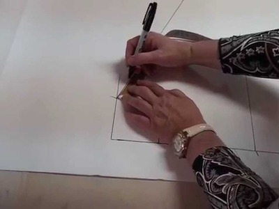 Pattern drafting for beginners - basic bodice in under 5 minutes
