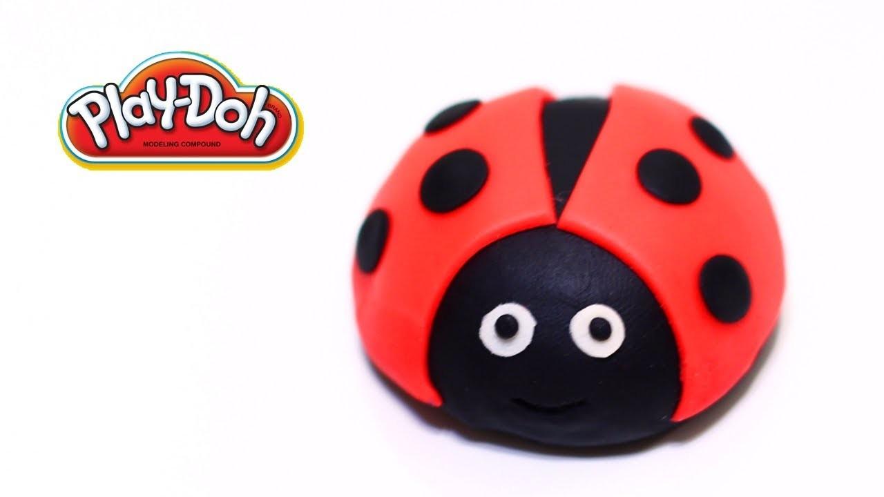 Play-Doh Ladybug Easy!