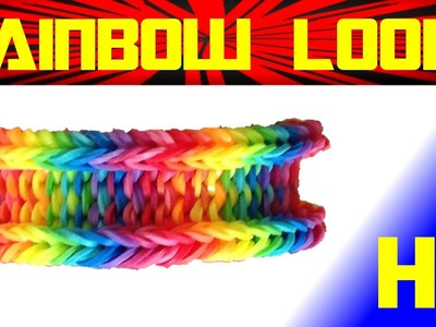 Rainbow Loom | Loom Bands | Make a Rainbow Loom Bracelet