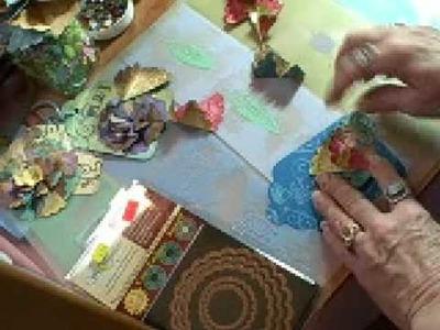 Spellbinders Nestabilities Origami Flower, Continued