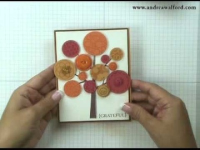 Stampin' with Andrea ~ Fun Fall Card