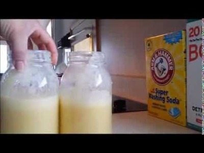 Super Laundry Sauce Recipe and Instructions! (Concentrated)