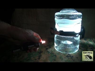 Survival Tip:  Two SHTF DIY Light Options