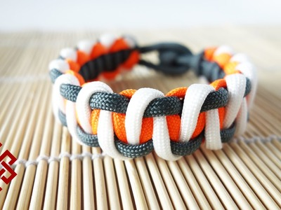 Tritone Advanced Solomon Bar Paracord Bracelet Tutorial