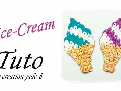 Tuto Rainbow Loom - Mural Ice-Cream !