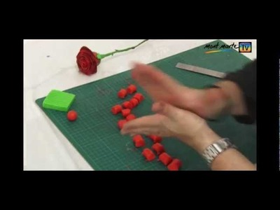 Art Lesson: How to make a Red Rose using Polymer Clay