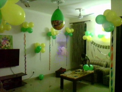 Balloons decoration birthday Greater Noida
