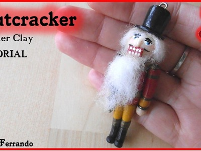 Christmas Advent Calendar: 22nd Day - Polymer Clay Nutcracker Tutorial