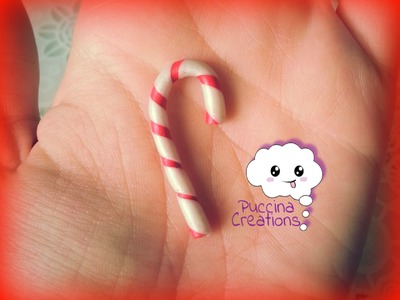 Christmas Tutorial: Bastoncino di Zucchero (Fimo.Cernit.Premo.Polymer Clay)