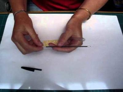 Decorated Pen using Designer Series Paper