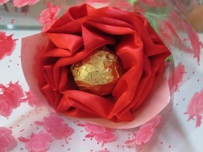 DIY : #62 Chocolate Flower (Valentine's Day) ♥