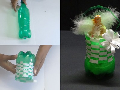 DIY - Beautiful Basket With Cool Drink Bottle