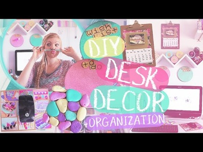 DIY Desk Decor + Organization for Back to School