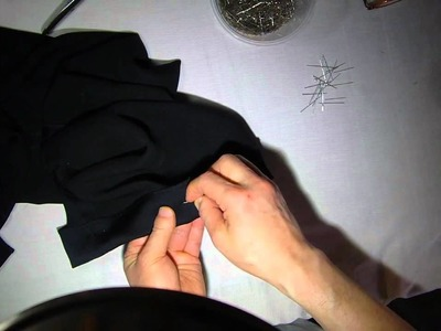 How to hem silk pants with hand sewing &  pressing tip