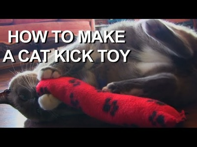 How To Make A Easy Cat Toy