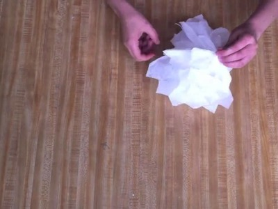 How to Make a Tissue Paper Halloween Ghost