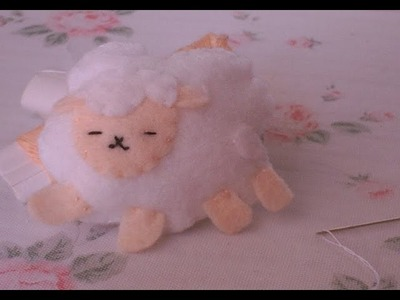 ♡How to make a very cute & easy sheep plushie.  ♡