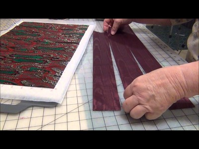 HOW TO MAKE  WOVEN HOLIDAY PLACE MATS