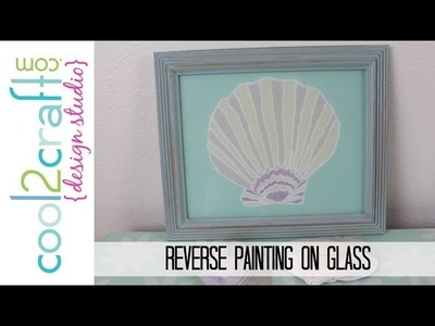 How to Reverse Paint on Glass