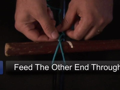 How to Tie a Loop : Transom Knot