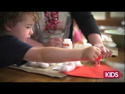 Kids Christmas Crafternoon (Episode 2): How to make a Paper Bag Santa