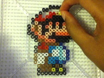 Perler Bead Tutorial: Mario Part 2