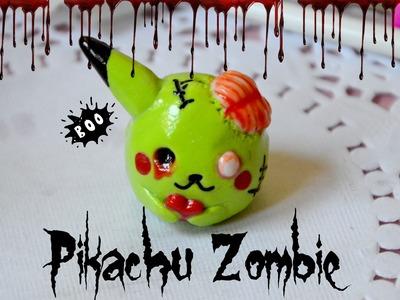 Pikachu Zombie-Polymer Clay tutorial