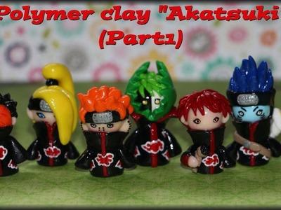 "Polymer Clay ""Akatsuki"" (Part 1)"