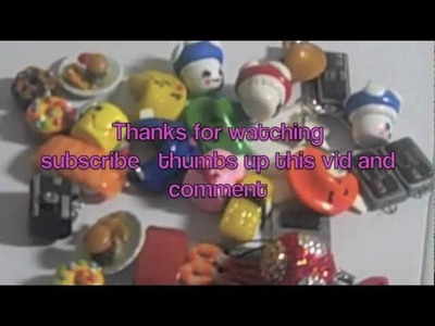 Polymer clay chibi cup cake geekry  charms update 1