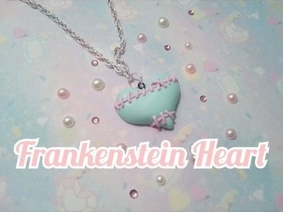 Polymer Clay Frankenstein Heart Tutorial