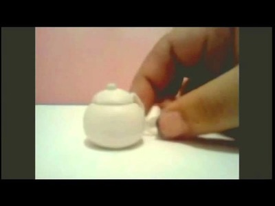 Polymer clay teapot tutorial
