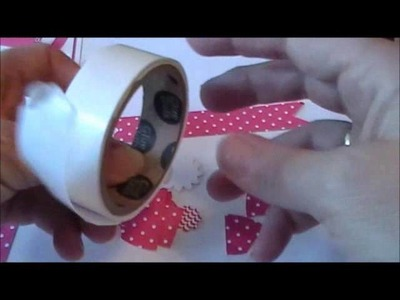 Punch Art Paper Bow - www.thestampcamp.com.blog.