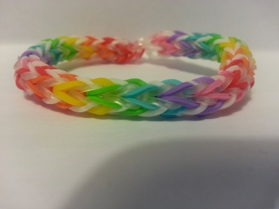 Rainbow Loom - Cross Quad-Fish